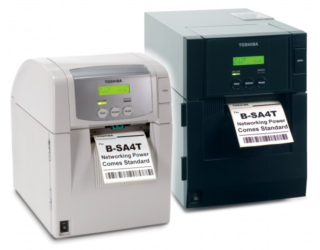 TOSHIBA TEC: B-SA4TP และ B-SA4TM (4 inches)